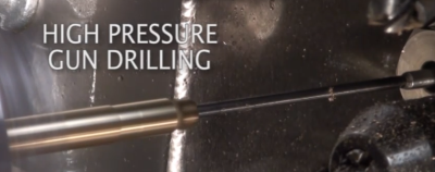 high pressure gun drilling