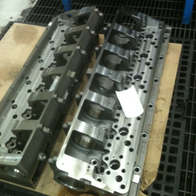 reaming cylinder heads